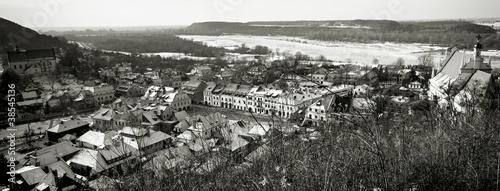 Panel Szklany Panorama of Kazimierz Dolny