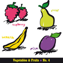 Vegetables & Fruits 4