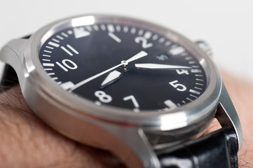 Aviator classic wrist watch.