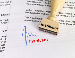 Stempel: Insolvent