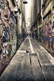 Domy pokryte graffiti w Melbourne, Australia