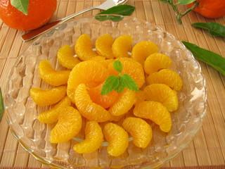 Mandarinen Dessert