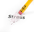 Stress at business office concept