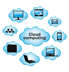 Cloud computing.