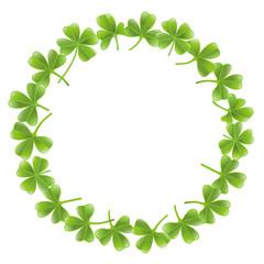 Clover leafs frame