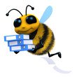 3d Bee gets his filing system in order