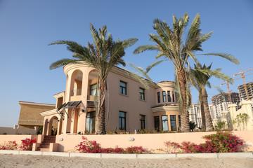 Beachside villa in The Pearl of Doha, Qatar