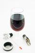 sourire - dégustation d'un bon vin rouge