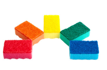 Kitchen sponges.