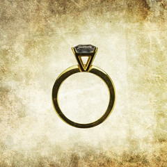 wedding ring print