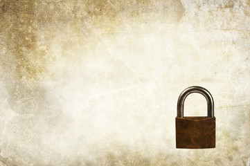 padlock backdrop