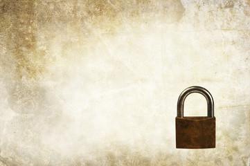 padlock backdrop