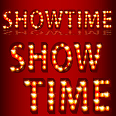 Theatrical Lights ShowtimeText