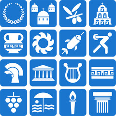 Greece pictograms
