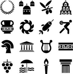 Greece pictograms