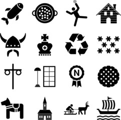 Sweden pictograms