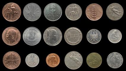 Ancient European coins