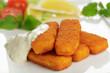 Fischstäbchen mit Sauce Remoulade