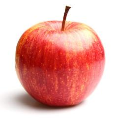 Sweet apple in closeup