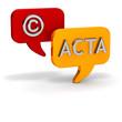 ACTA > Schutz der Copyrights Kompromisse DIALOG