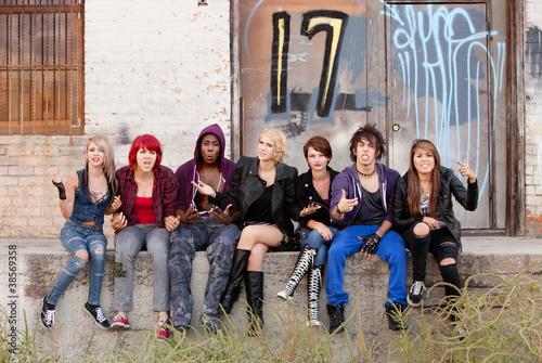 Angry Teen Punks