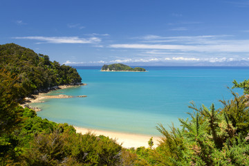 New Zealand Landscape. Abel Tasman National Park.