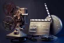 projecteur vieux film et le film objets