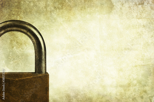 lock backdrop