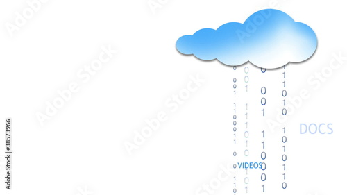 Cloud Computing Cloud Animation