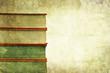 book pile background