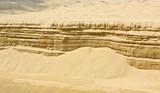 Fototapete Meer - Abstrakt - Stein / Sand