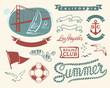 Vinatge nautical set