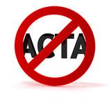 ACTA Kritik und Protest SYMBOL
