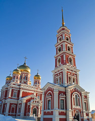 The Russian Orthodox church in Saratov