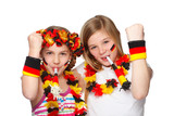 german fans jubilating