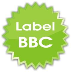 étiquette label BBC