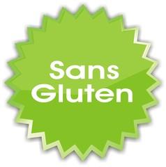 étiquette sans gluten
