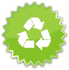 étiquette recyclable