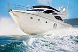 Fototapety motor boat