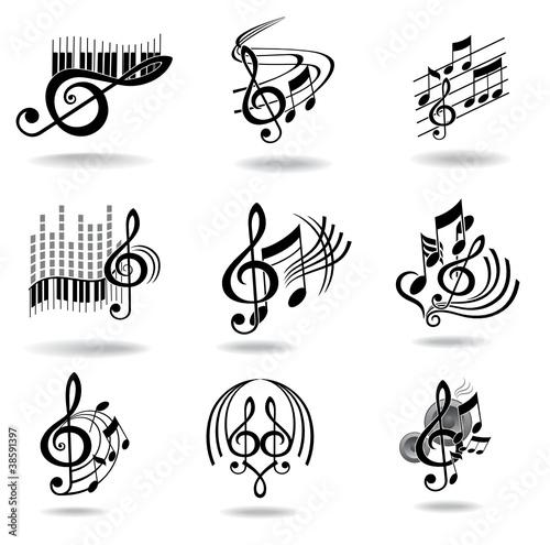 В музыке и дизайне