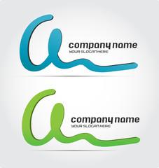 Business Logo Design, letter a
