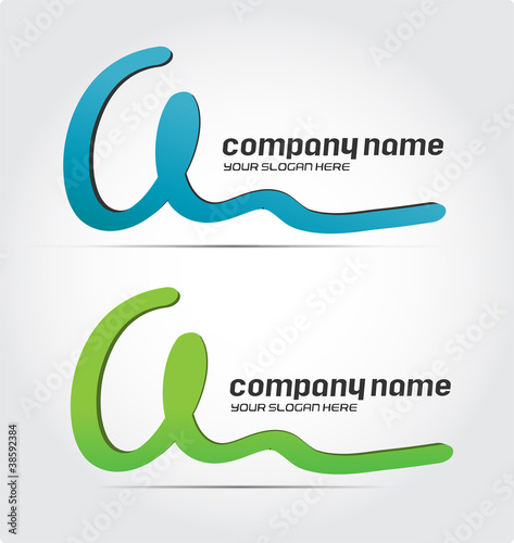 Business Logo Design, letter a