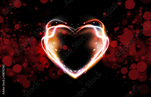 abstract background of heart