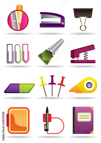 Office, school and education bookstore tools