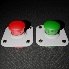 Red and Green Pushbuttons