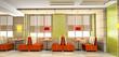 Cafe interior 3D