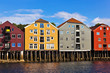 Cityscape of Trondheim, Norway
