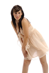 robe légère couleur chair 11
