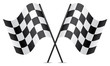vector racing flags