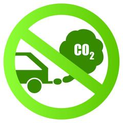 Ecological transport vector sign